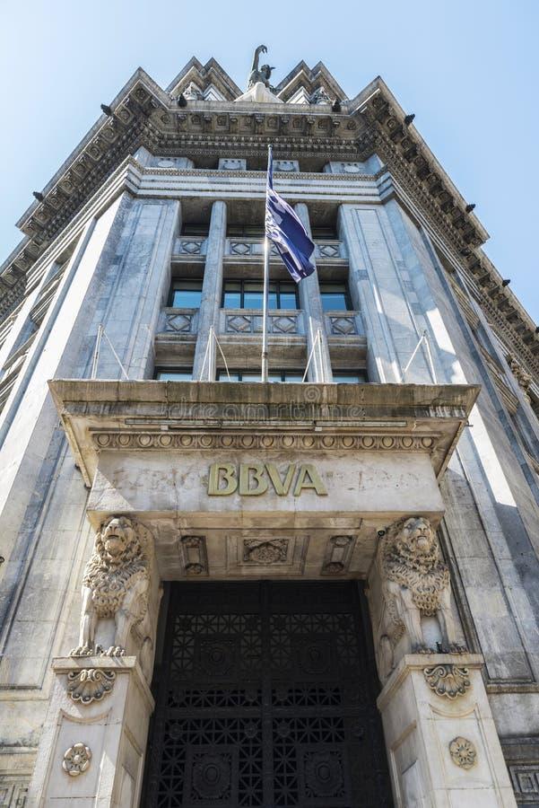 Бывшие штабы BBVA, Испания стоковое фото