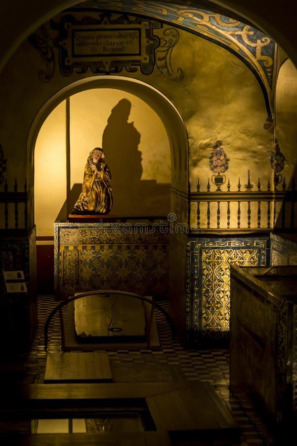 бывший монастырь преобразованный к музею, ngel  Сан Ã, Мехико, Мексике стоковые изображения