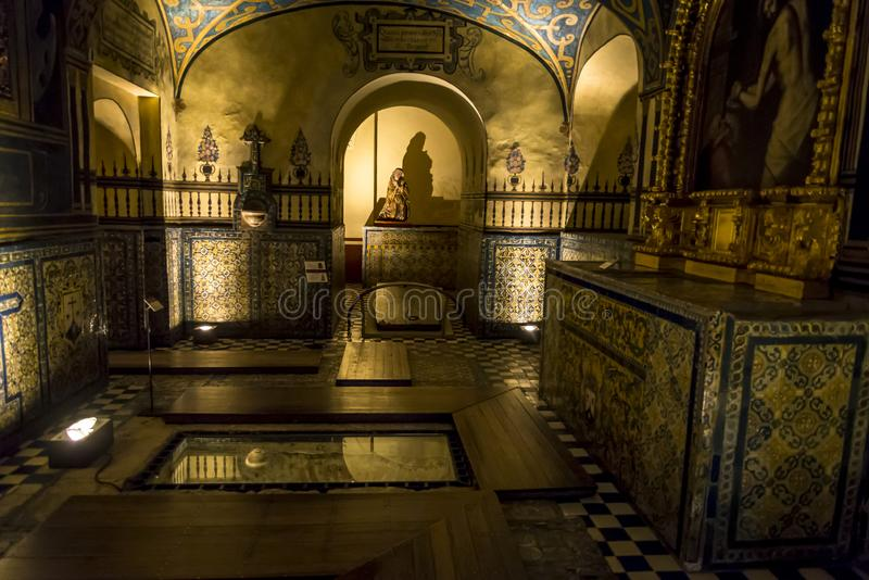 бывший монастырь преобразованный к музею, ngel  Сан Ã, Мехико, Мексике стоковая фотография rf