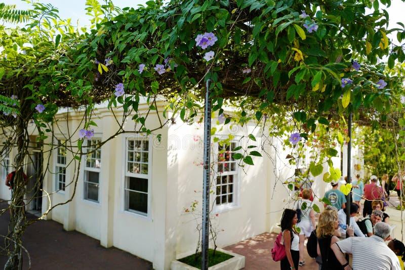 Бывший дом Эрнест Хемингуэй в Кубе стоковое изображение rf