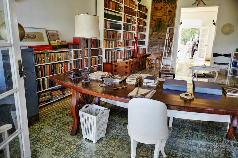 Бывший дом Эрнест Хемингуэй в Кубе стоковое фото rf