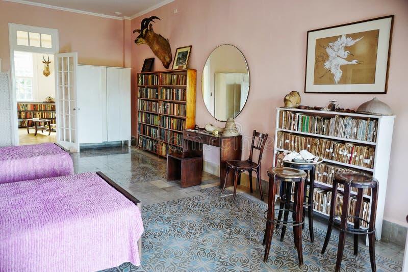 Бывший дом Эрнест Хемингуэй в Кубе стоковая фотография