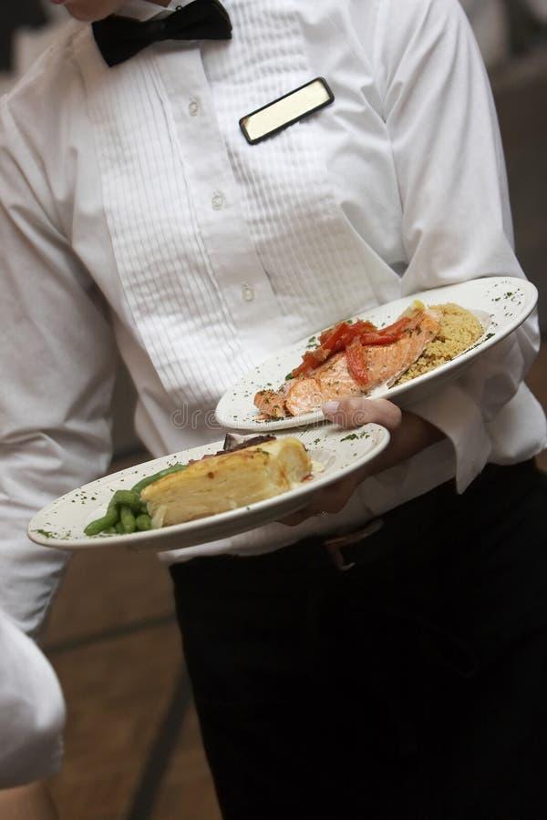 был венчанием служят едой, котор стоковое изображение