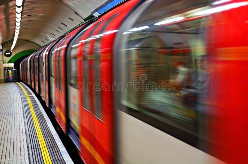 быстроподвижный поезд стоковые фото