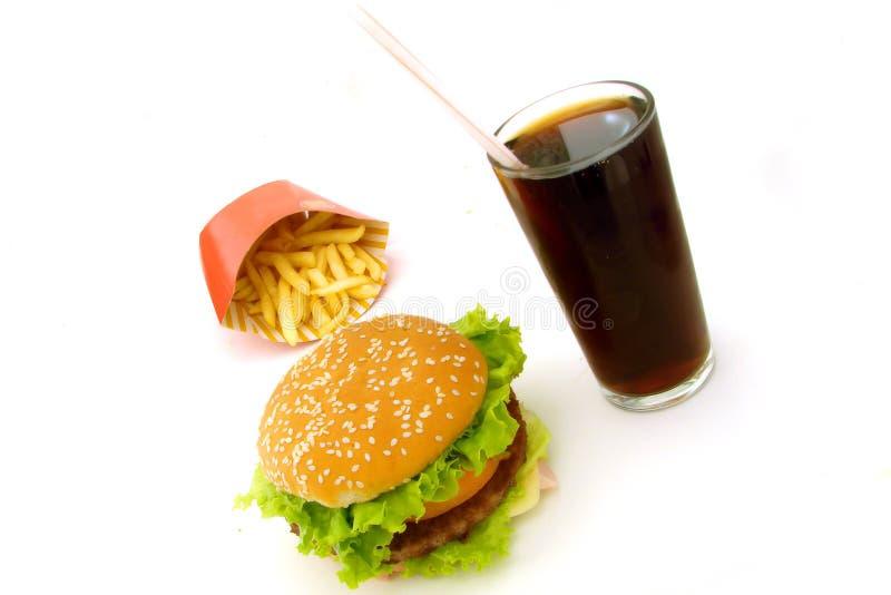 быстро-приготовленное питание стоковое изображение