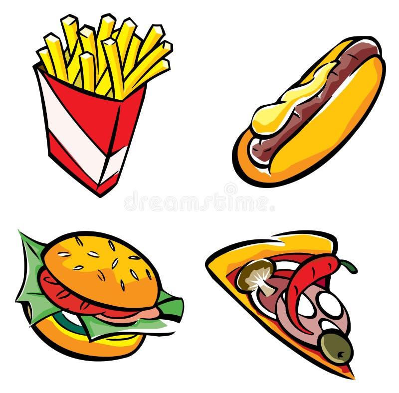 быстро-приготовленное питание бесплатная иллюстрация