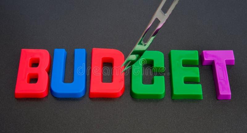 бюджетные сокращения стоковые фотографии rf