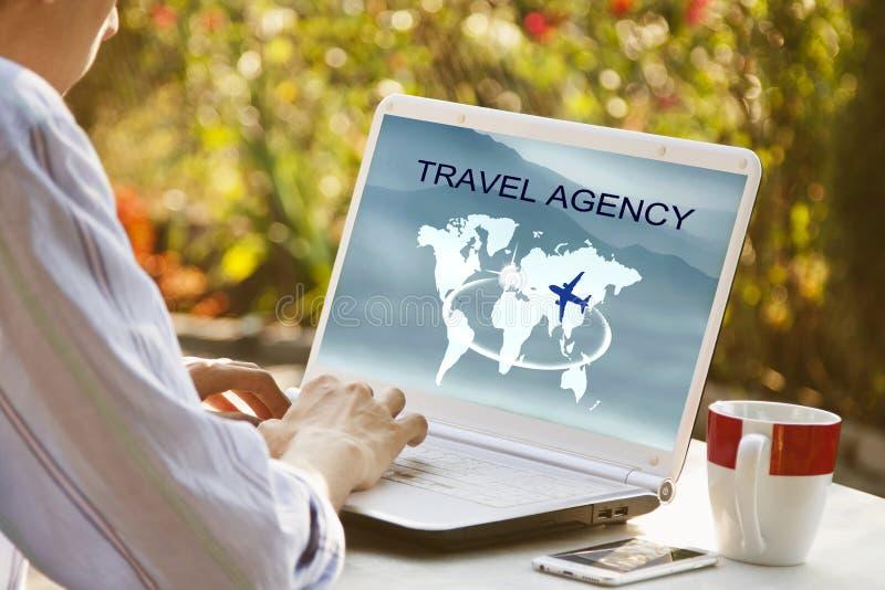Бюро путешествий стоковые фотографии rf