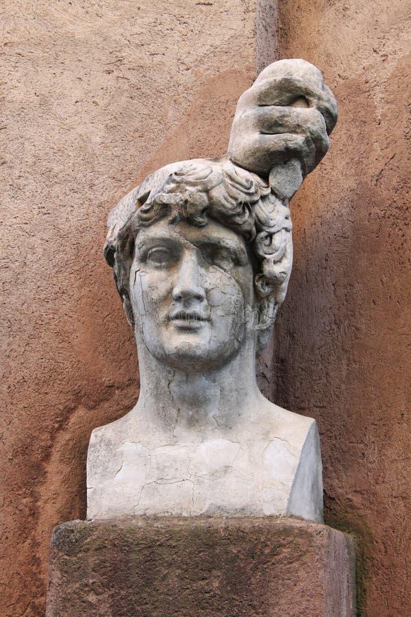 бюст римский стоковые изображения rf