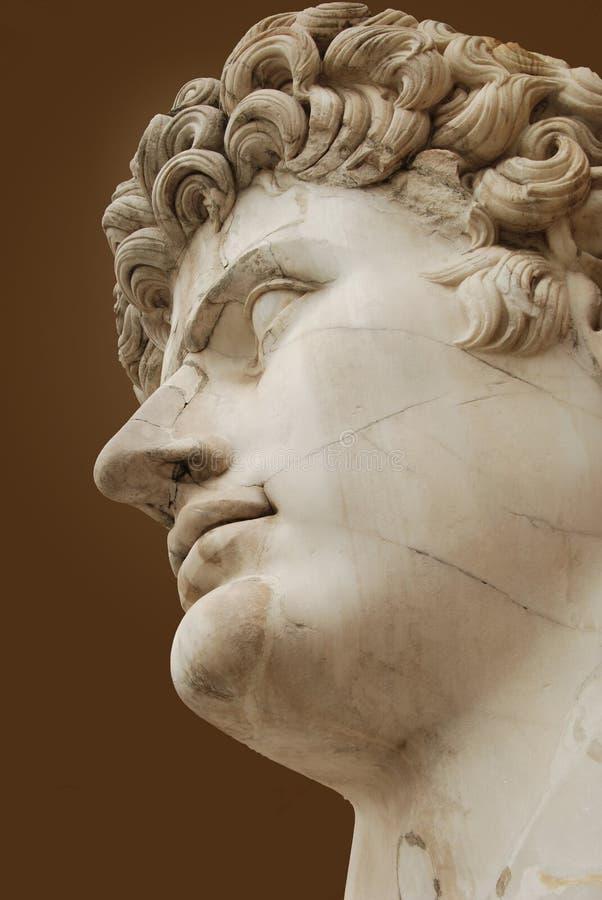 бюст римский стоковая фотография
