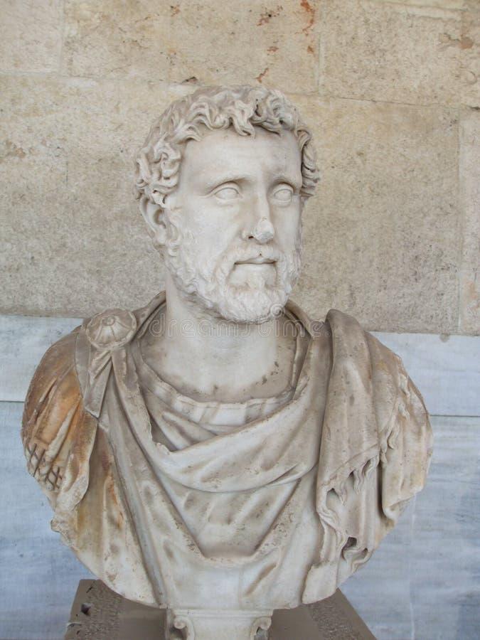 бюст римский стоковая фотография rf
