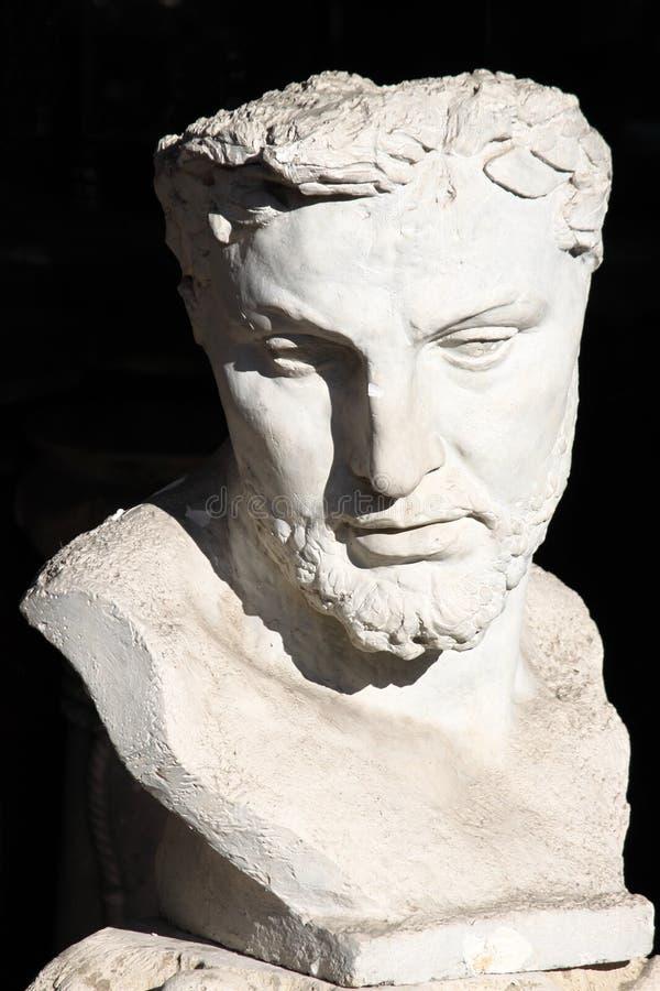 бюст римский стоковые изображения