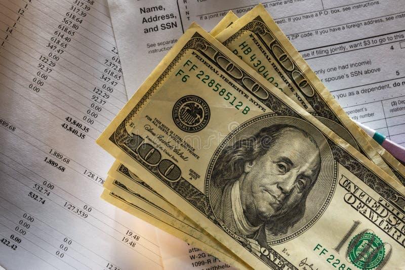 Бюджет и деньги стоковое изображение