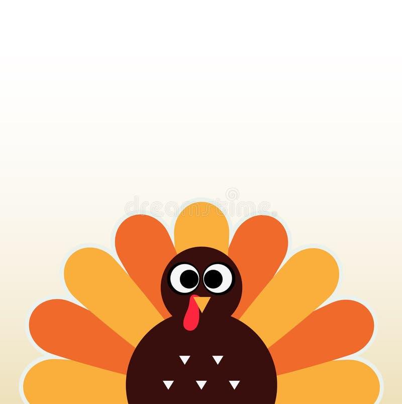 Благодарение красочная Турция бесплатная иллюстрация