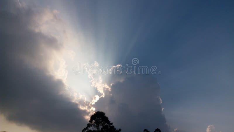 Блеск облака стоковое фото