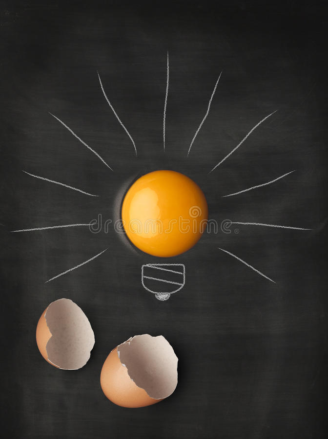 Блестящие идеи нововведения стоковые изображения