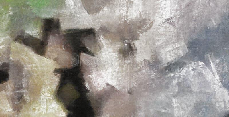 бледные цвета иллюстрация вектора