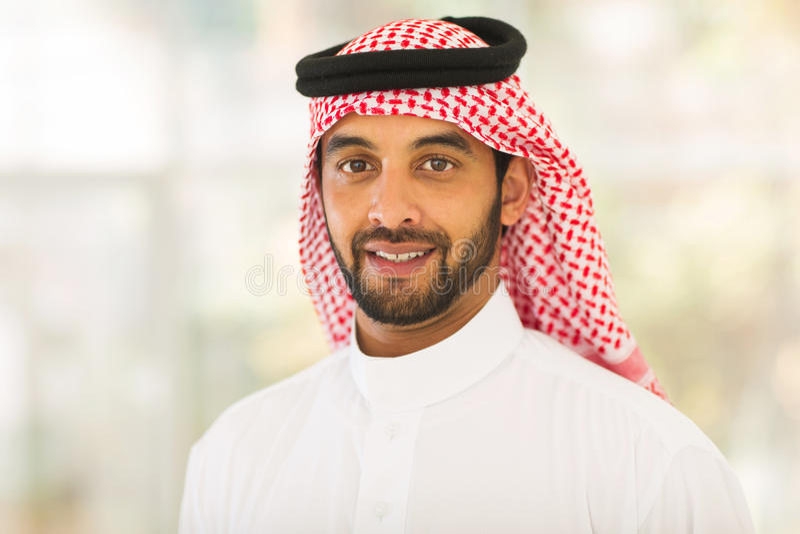 Ближневосточный человек стоковое изображение