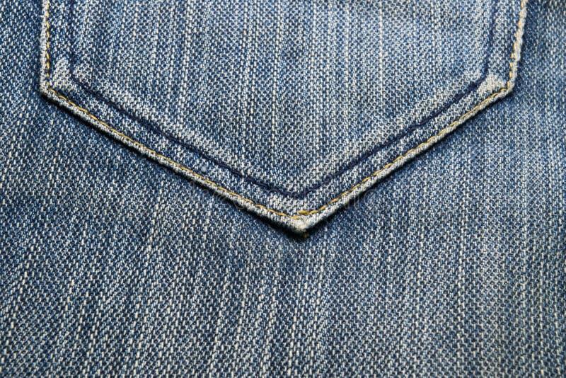 близкая текстура съемки джинсыов вверх стоковая фотография