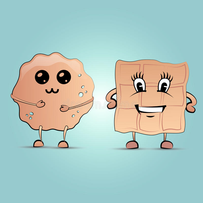 Блинчик и waffle стоковые изображения rf