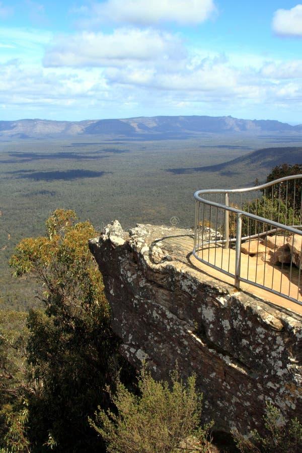 Бдительность балконов - национальный парк Grampians стоковая фотография rf