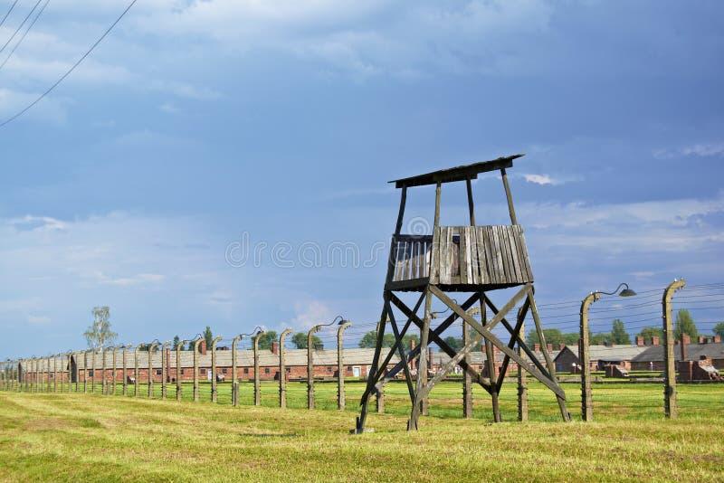 Бдительность в Auwitch стоковая фотография rf