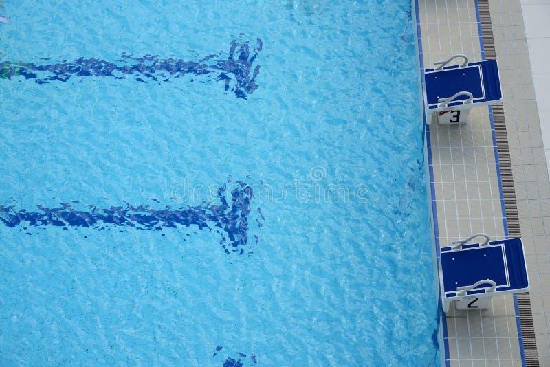 Блоки бассейна начиная стоковые изображения rf