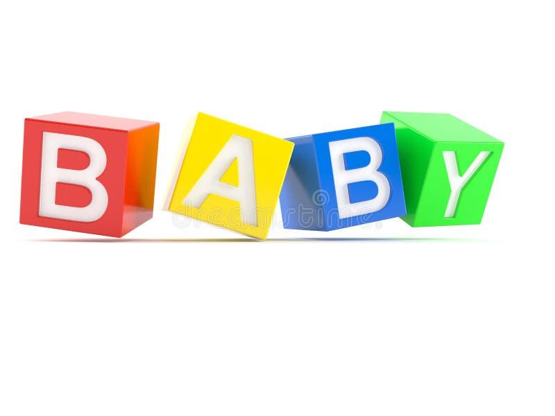 Блоки игрушки младенца бесплатная иллюстрация