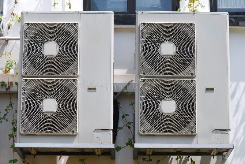 Блоки катушки вентилятора стоковая фотография rf
