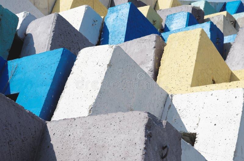 Блоки Accropode стоковое фото rf
