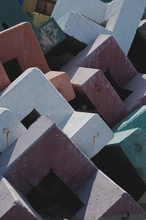 Блоки Accropode стоковые фотографии rf