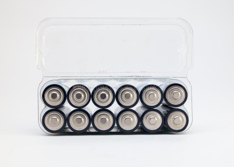 Блок батарей AA стоковое изображение