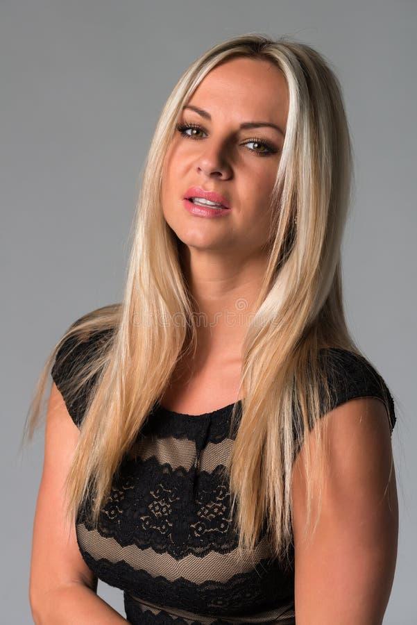Блондинка стоковое изображение