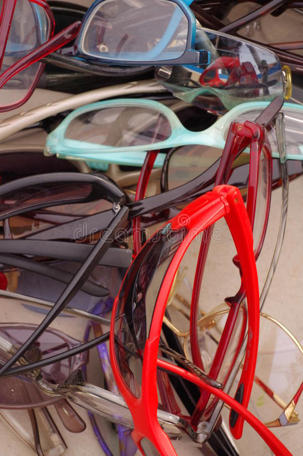 Блошинный Eyeglass стоковая фотография