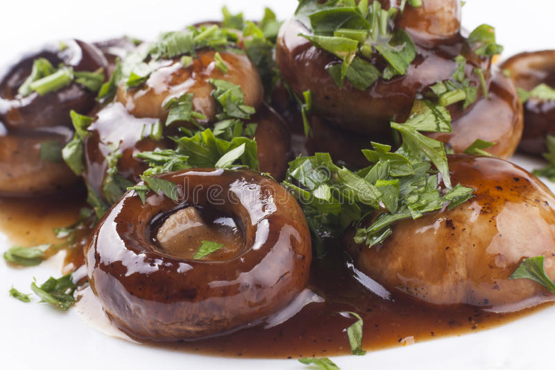 Блюдо гриба стоковое изображение rf