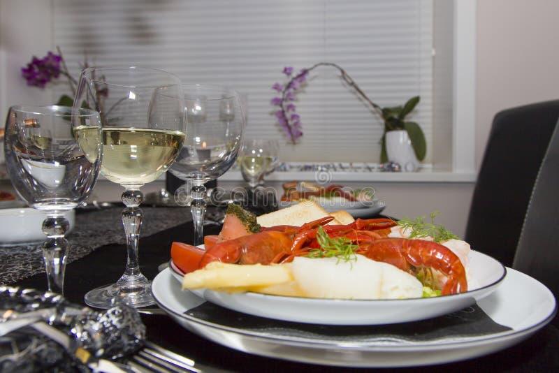 Блюдо Нового Года стоковое изображение rf