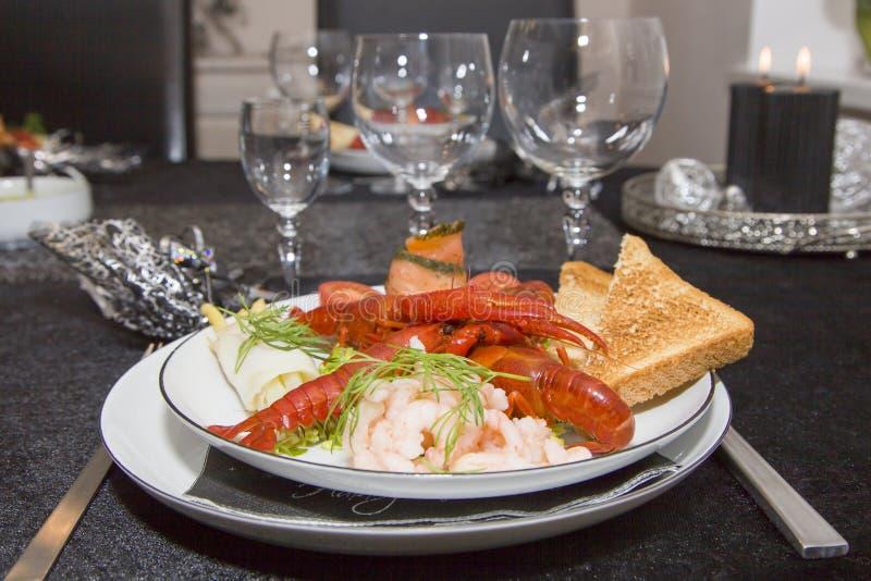 Блюдо Нового Года стоковая фотография rf