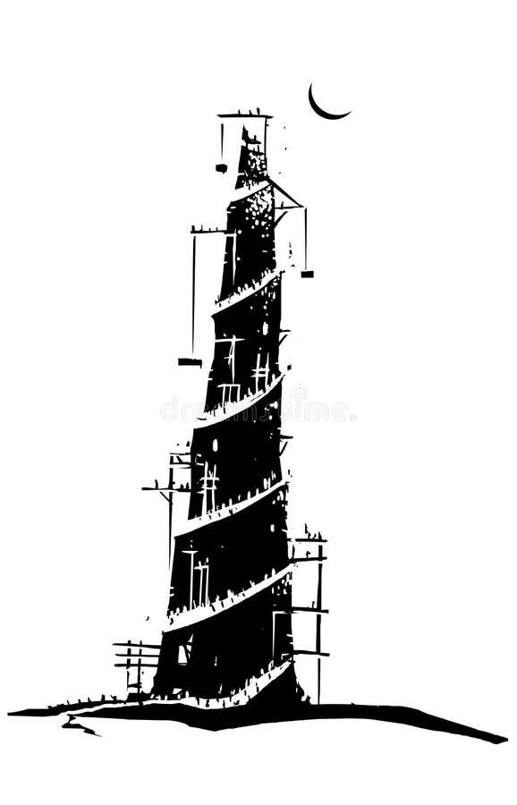 вавилонская башня бесплатная иллюстрация