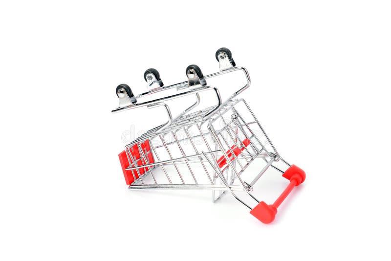 Вагонетка супермаркета стоковое фото