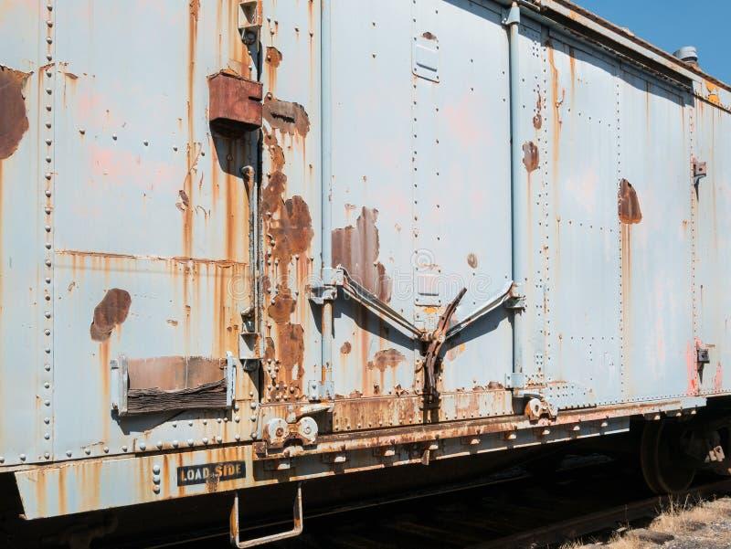 вагон закрытого типа старый стоковые фотографии rf