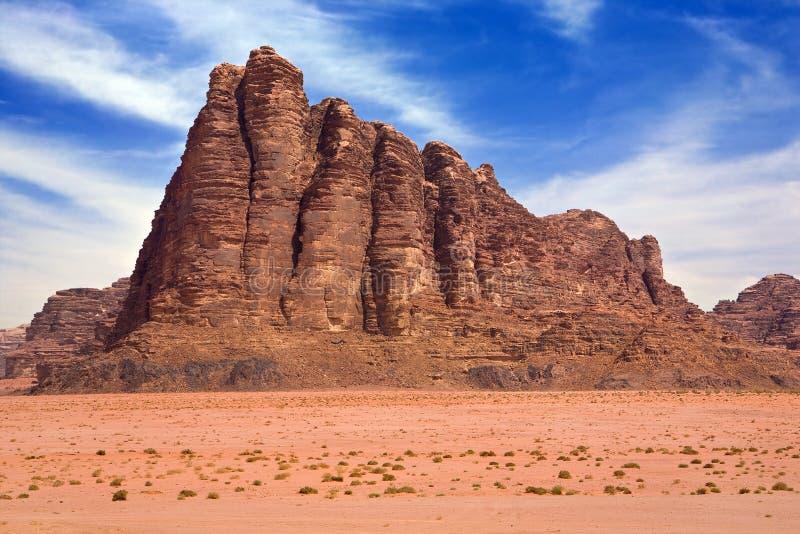 вади рома пустыни стоковая фотография