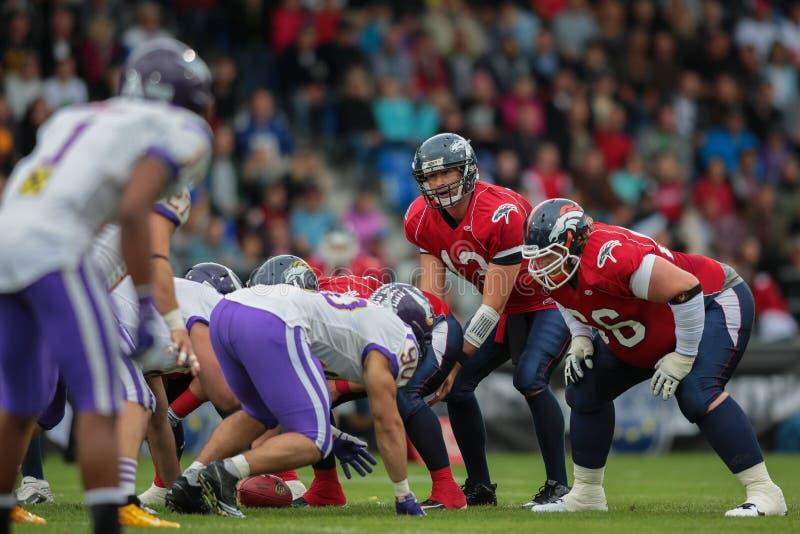 Eurobowl XXVI - Мустанги против Vikings стоковое изображение rf