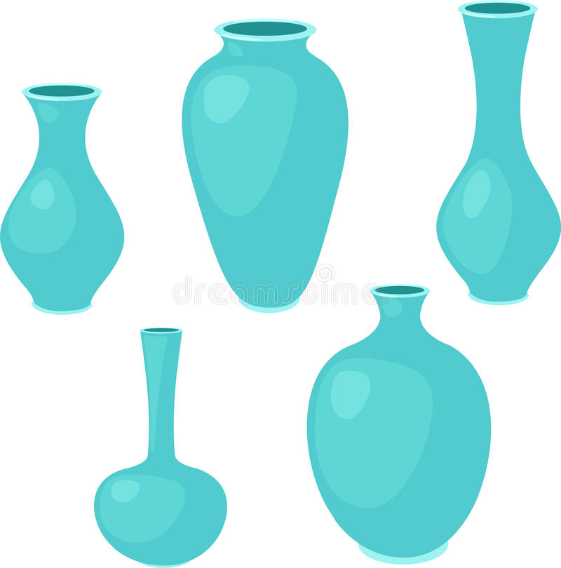 ваза иллюстрации иллюстрация штока