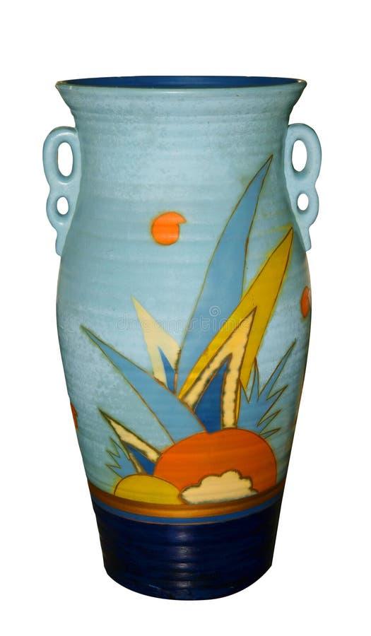 ваза стиля Арт Деко стоковое фото rf