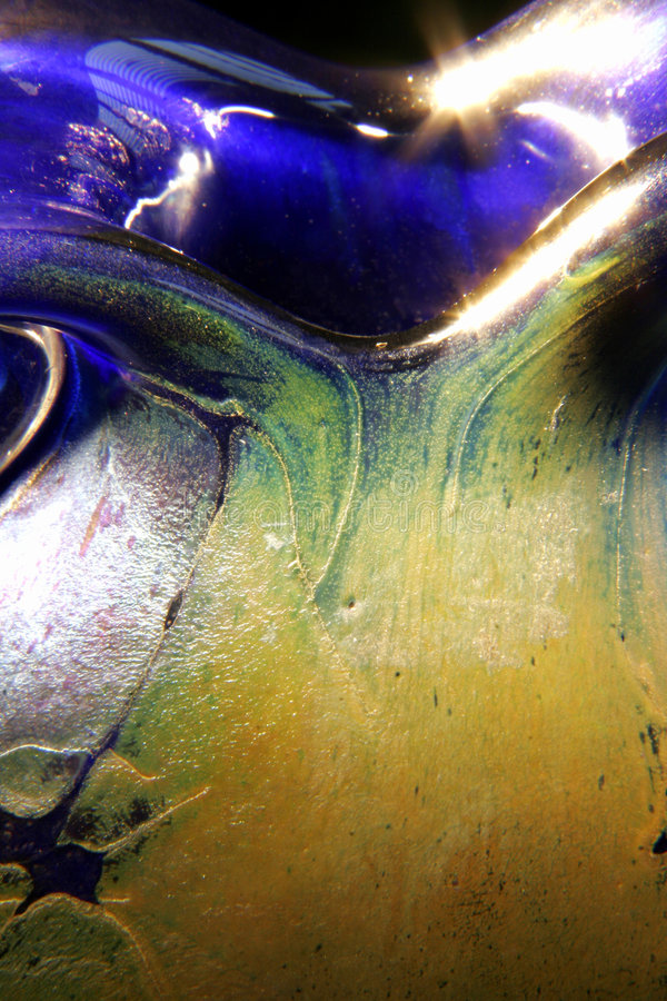 Download ваза Gozo крупного плана стеклянная Стоковое Изображение - изображение насчитывающей стекло, орнаментально: 6863445