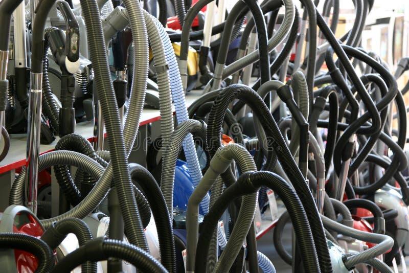 вакуум волнистых труб уборщиков стоковая фотография rf