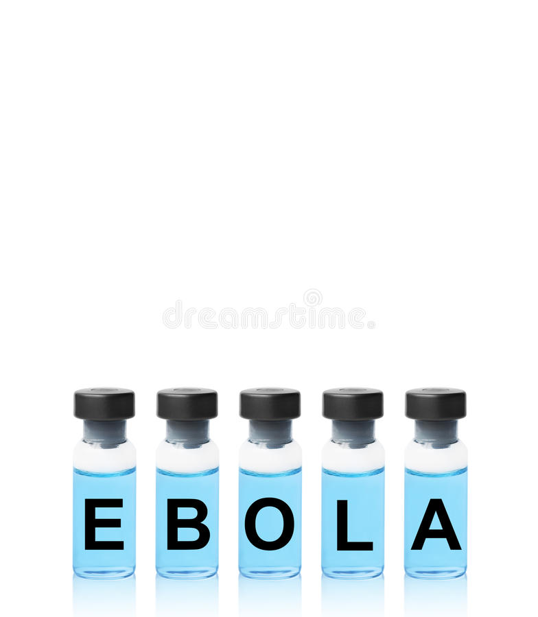 Вакцина Ebola стоковые фото