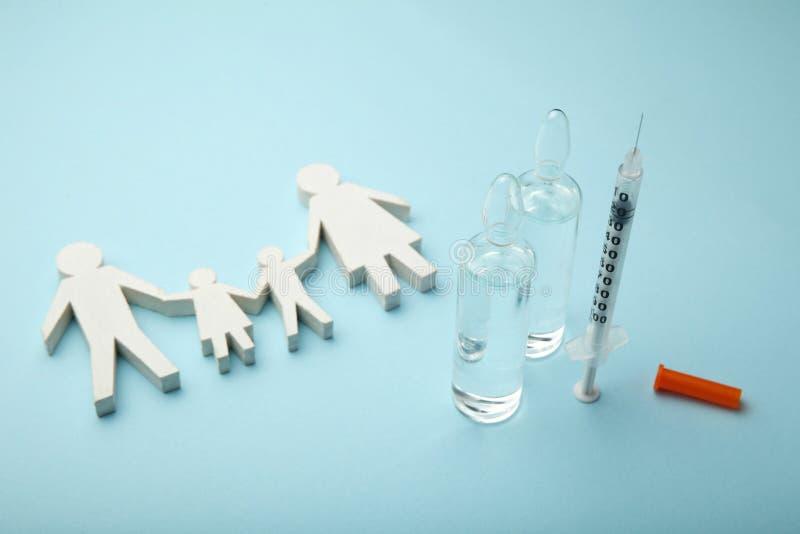 Вакцинирование гриппа Усильте невосприимчивость тела стоковые изображения rf