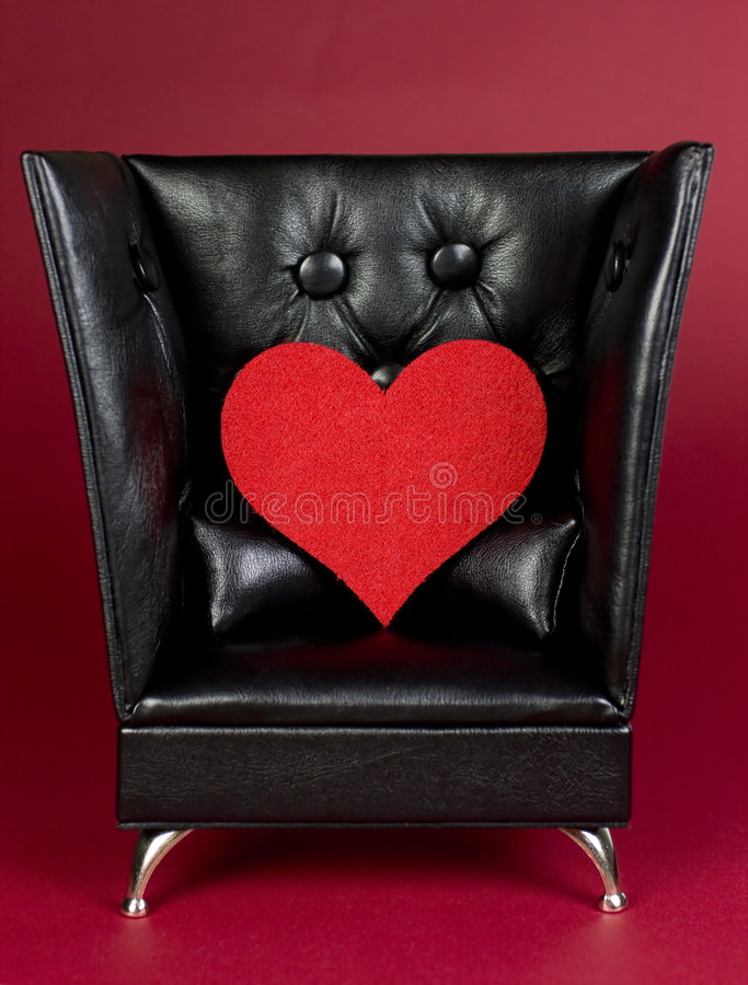 Валентайн влюбленности сердца стоковое изображение