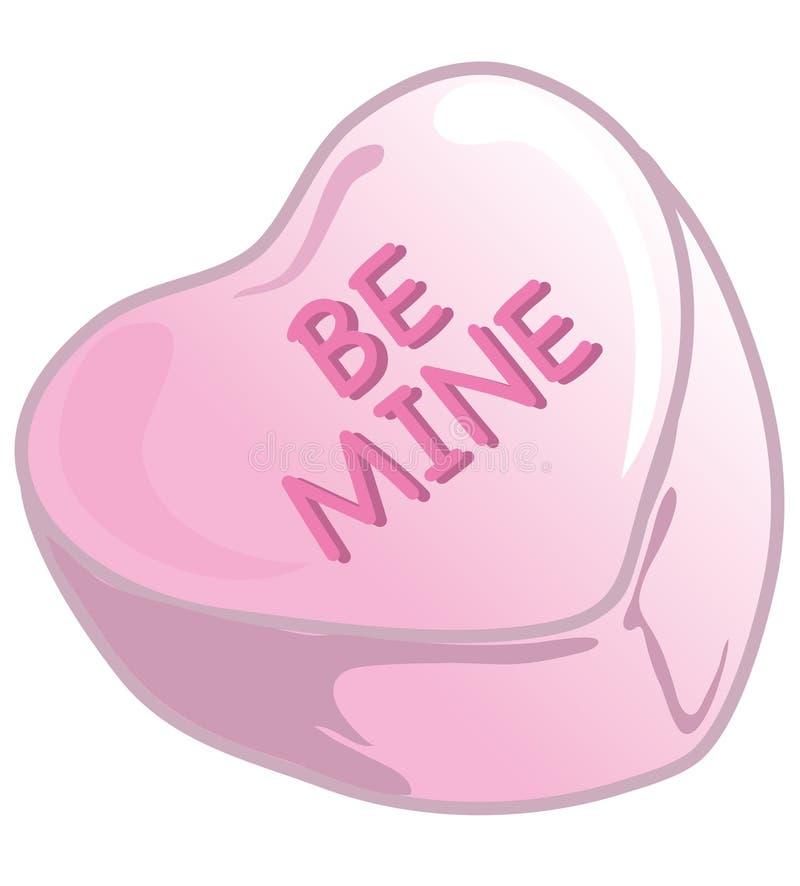 Валентайн конфет розовое бесплатная иллюстрация